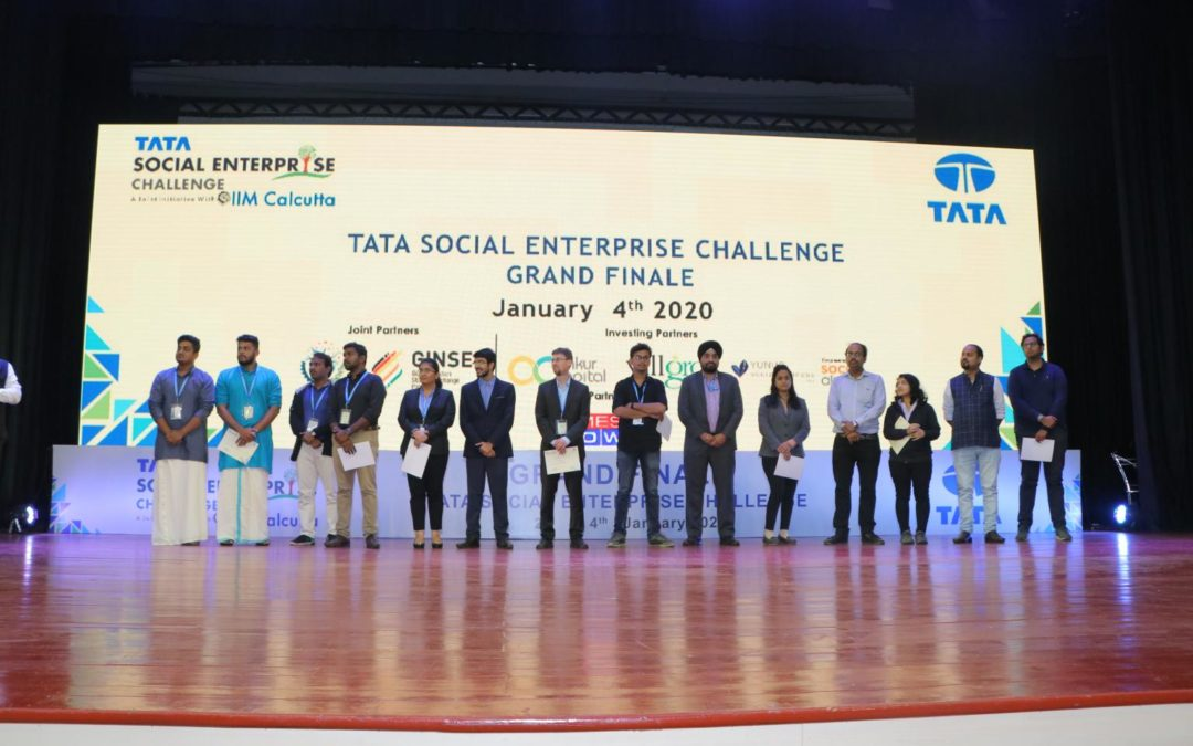 TATA Social Enterprise Challenge 2020