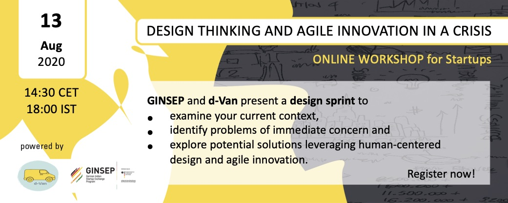 Online Workshop on Design Thinking and Agile Innovation in a Crisis