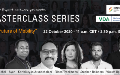 "Ginsep Masterclass Series 2: ""The Future of Mobility"""