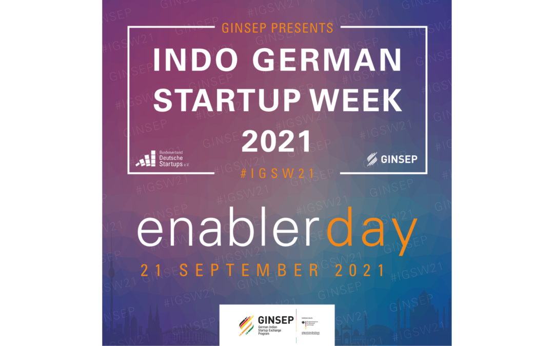 Panels to look out for at Indo- German Startup Week 'Enabler Day': 21 September